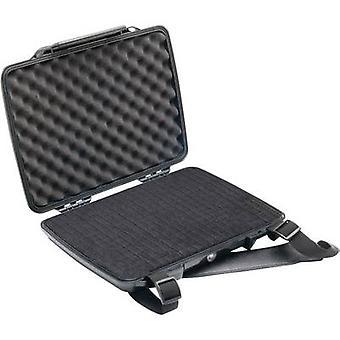 PELI Laptop saken 1075 2 l (B x H x D) 314 x 54 x 248 mm svart 1070-000-110E