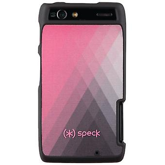 Speck Fabric Case for Motorola RAZR XT912 - Pink