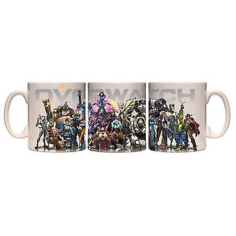 Mug - Overwatch - Group Coffee Cup 20oz New cmg20-ow-grp
