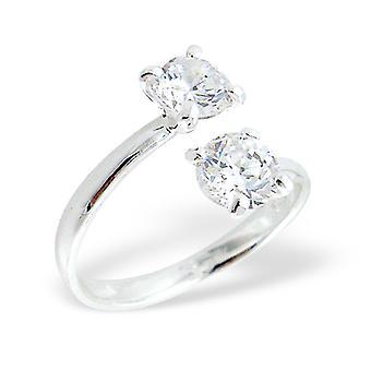 Rotund - 925 Sterling Silver Inele cu bijuterii - W725x