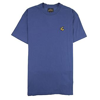 Vivienne Westwood Anglomania geborduurd boxy T-Shirt Navy