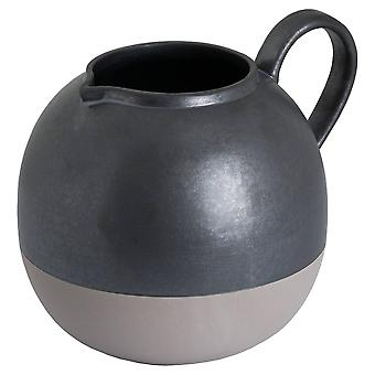 Hill Interiors Metallic Bulbous Jug