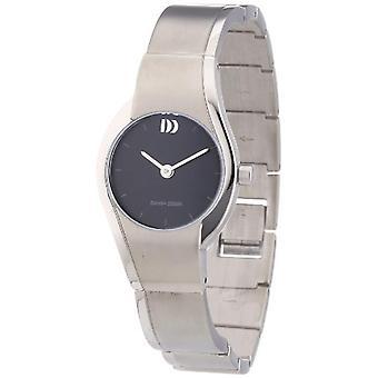 Dansk Design 3326594-armbåndsur, titanium, farve: sølv