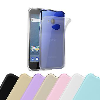 Cadorabo Case for HTC U11 LIFE Case Cover - Mobile Phone Case made of flexible TPU silicone - Silicone Case Protective Case Ultra Slim Soft Back Cover Case Bumper
