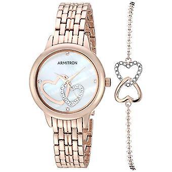 Armitron Clock Donna Ref. 75/5663MPRGST