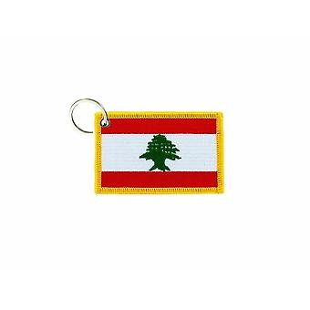 Cle Cles Key Brode Patch Ecusson Badge Flag Lebanese