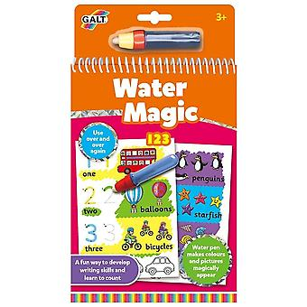Galt - Water Magic- 123 - Re-usable Colouring Book