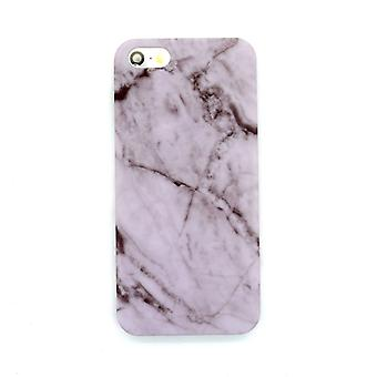 Iphone 5/5S/SE Marble Cover Case Pink