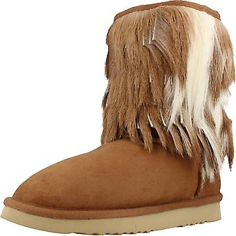 Mou Booties Antelope Fringed Cowboy Color Che