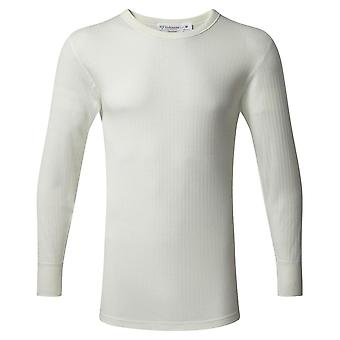 Vedoneire Thermal Long Sleeve Vest - Cream/White