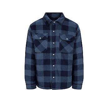 Champion Hombres Kinross Fleece camisa de estilo leñador acolchado