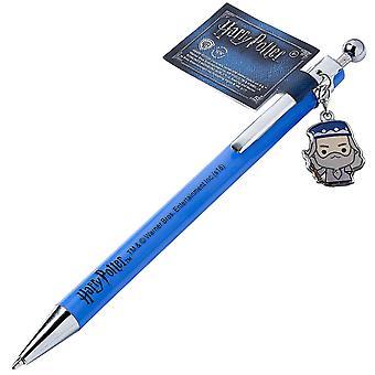 Harry Potter Pen Professor Dumbledore Chibi Charm Hogwarts new Official Blue