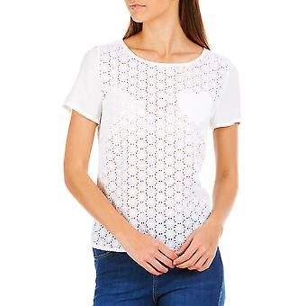 Sugarhill Boutique Aria Witte Broderie Anglais Top