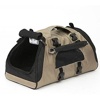 Petego Jet set pet carrier met nieuw forma frame, medium-Tan