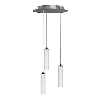 Meteor 3 Mini Pendant Lighting Chrome