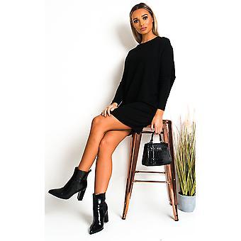 IKRUSH Womens Celine Knitted Jumper Dress