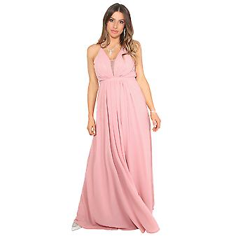 Krisp Femei Halterneck Maxi Dress Backless nunta seara Cocktail Ball Dress Party