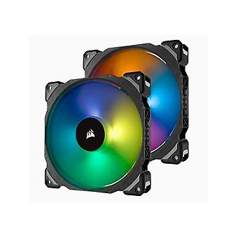 Corsair Ml140 Pro Rgb 2 Fan Pack With Lighting Node Pro 140Mm