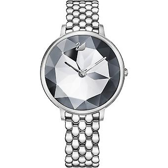 Watch Swarovski 5416017 - CRYSTAL LAKE woman Silver Dial steel case Steel Bracelet