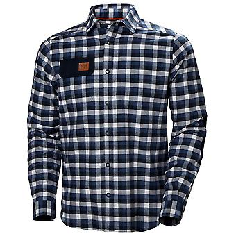 Helly Hansen Mens Kensington Cotton Casual Flannel Shirt