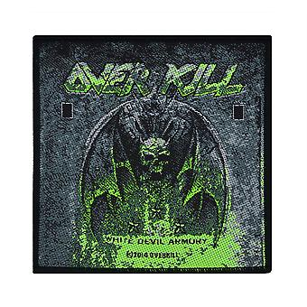Overkill White Devil Armory Woven Patch