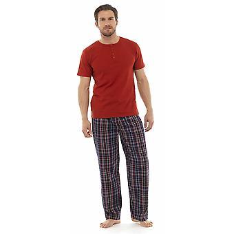 توم فرانكس رجالي جيرسي القطن الاختيار بيجاما صالة ملابس