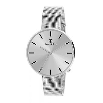 Watch James And his JAS10043 204 - steel man