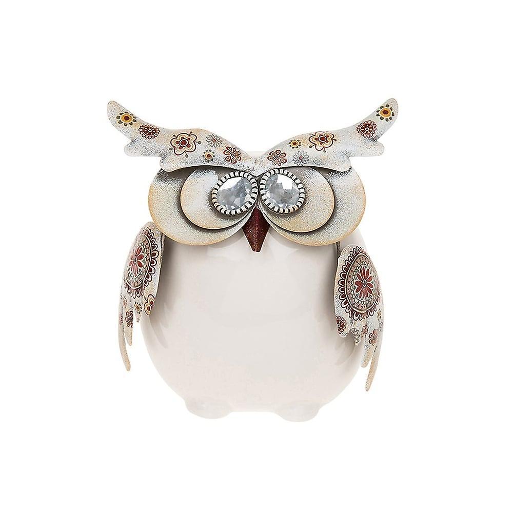 Joe Davies Country Art Owl Sitting Small