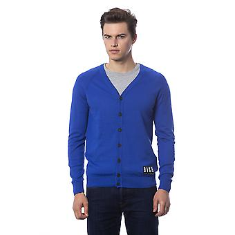 Cardigan Blue Rich John Richmond Man