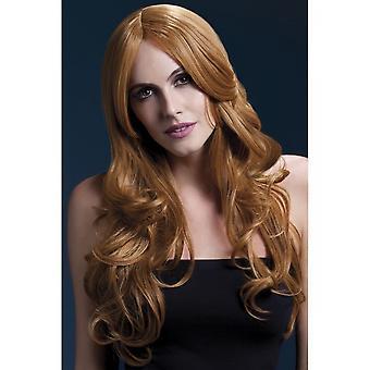 Smiffy's Fever Khloe Wig - Auburn