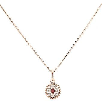 Spt01024 - necklace pendant Zeades pendant necklace Rose Gold crystals woman