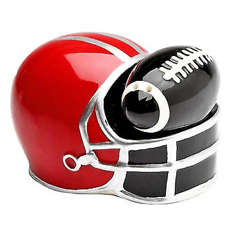 Football and Helmet Salt and Pepper Shakers