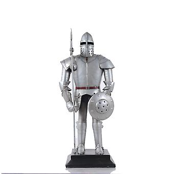 """5"""" x 7.5"""" x 17"""" Suit of Armour"""
