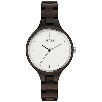 Mam Original Japanese Quartz Analog Woman Watch with Bracelet from Other SILT 609