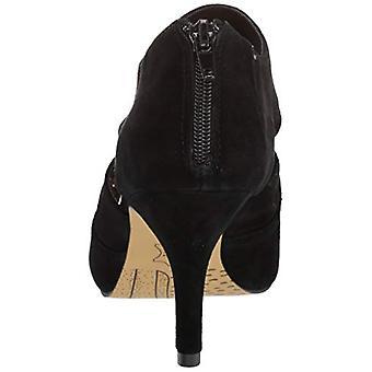 Bella Vita Frauen's Dani Kleid Shootie mit Ausschnitten Schuh, schwarz Kidsuede Leath...