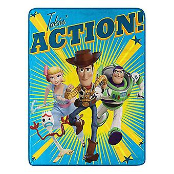 Super Soft Throws - Disney Toy Story 4 - Takin Action New 118789
