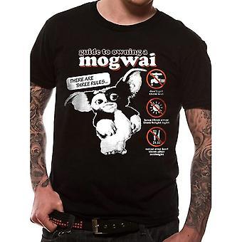 Men's Gremlins Mogwai Guide Black T-Shirt