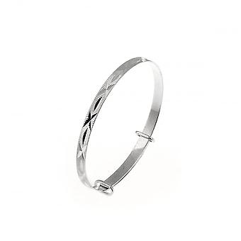 Eternity Sterling Silver Expanding Baby/Kids Bangle