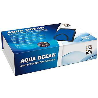 Aqua Ocean Iman con Rasqueta (Fish , Maintenance , Vacuums & Cleaning Devices)