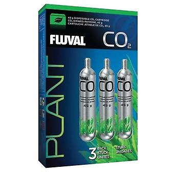 Fluval Co2 Cartucho Desechable 45G 3Piezas (Fish , Maintenance , Water Maintenance)