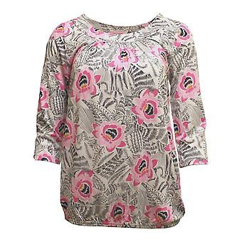 SOYACONCEPT Soyaconcept Pink Bloom Blouse 24707
