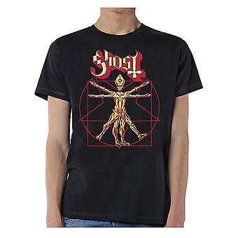 Ghost Popestar Tour 2017 Offisiell Tee T-skjorte Menns Unisex