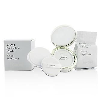 Laneige Skin Veil Base Cushion SPF 22 - #No. 60 Light Green 2x15g/0.5oz