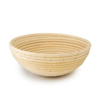 25cm Bread Basket   Round  9  Traditional Sourdough Style  Bread Dough Proofing Rising Rattan Basket Artisanal Bread