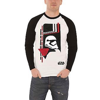 Star Wars Baseball Shirt Stormtrooper Art Official new White Unisex