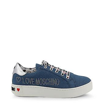 Love Moschino Original Women Spring/Summer Sneakers - Blue Color 33939