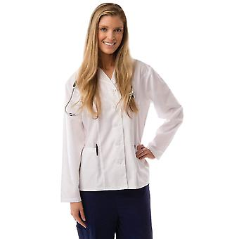 Frauen Princess-Schliff kurz Lab Coat Uniform