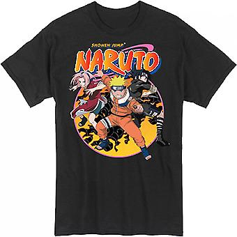 Naruto Team 7 Action Pose T-Shirt