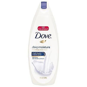 Dove diepe vocht lichaam wassen, 12 oz