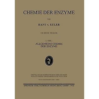 Chemie Der Enzyme by Von Euler & Hans
